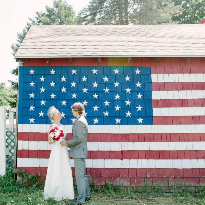 Liz + Garrett's Americana Wedding