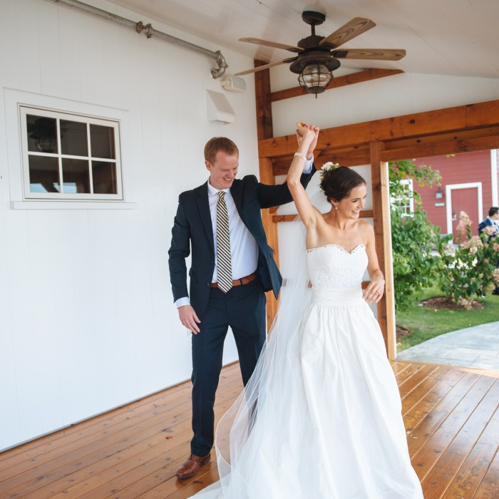 Chris + Annie's Hubbell Homestead Wedding