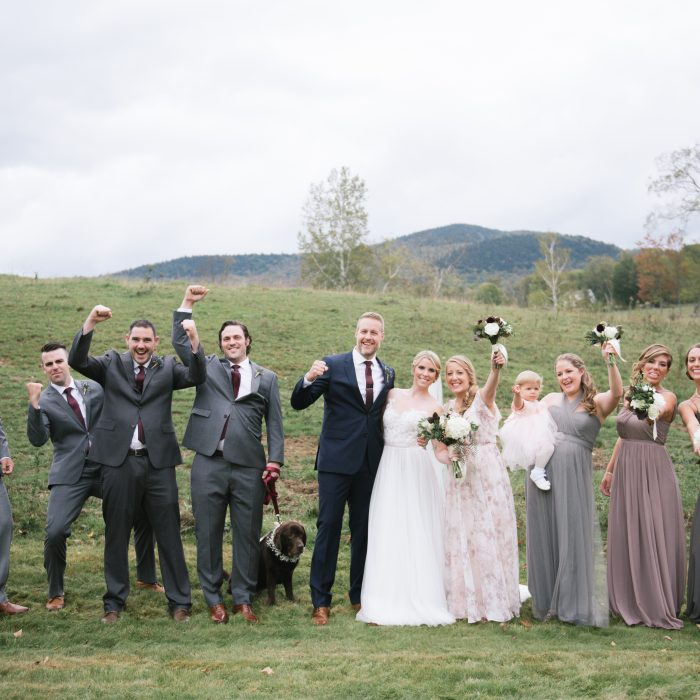 Shannon + Dave's Vermont Wedding