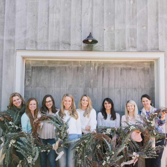 AVA FLORA Spring Wreath Workshop