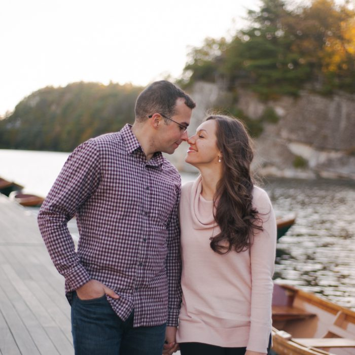 Kelly + Ryan Mohonk Mountain House Engagement