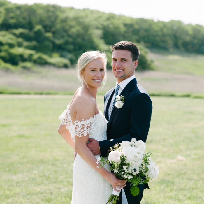 Jamie and David Montauk Wedding | Sole East | Navy Beach