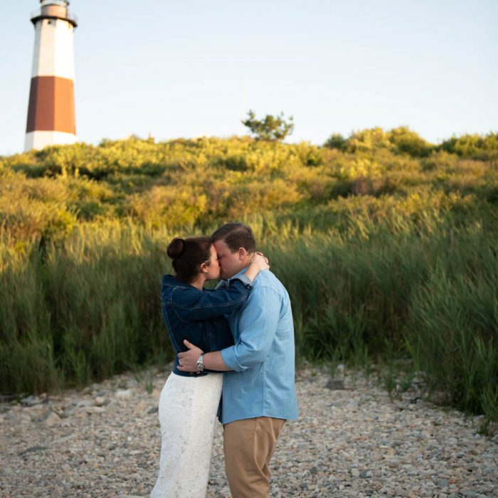 Marybeth + Evan's Montauk Lighthouse Engagement