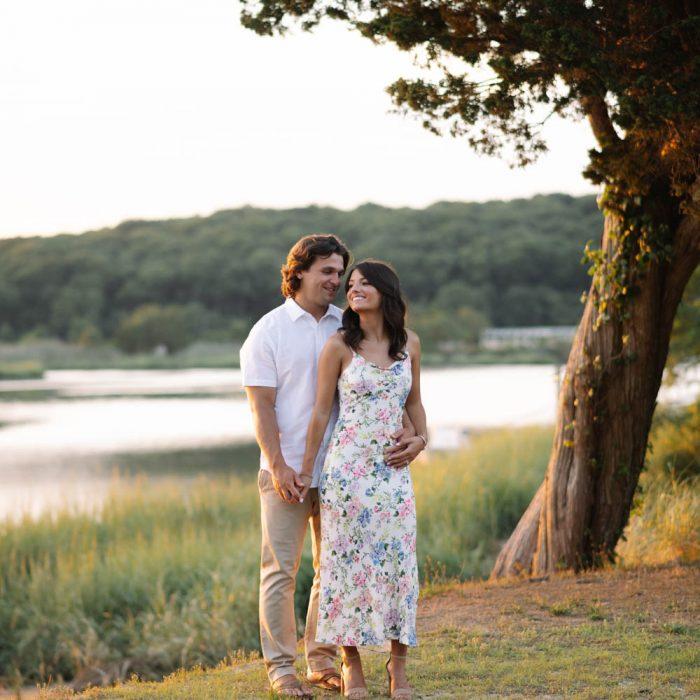 Kaitlyn + Jimmy's Setauket Engagement
