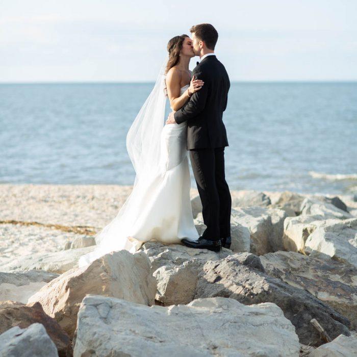 Liz and Joey North Fork Wedding