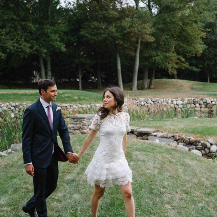 Alexandra + Zachary Alpine Country Club Wedding